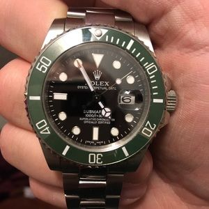 Rolex Anniversary ed Submariner Automatic movement